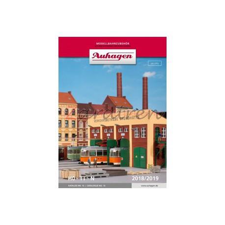 Auhagen - Catálogo general Auhagen 2018/2019. 307 paginas