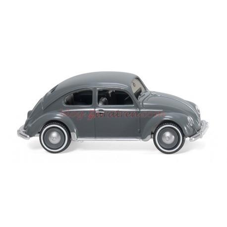 Wiking - VW Escarabajo, Color Gris, Escala H0, Ref: 083016