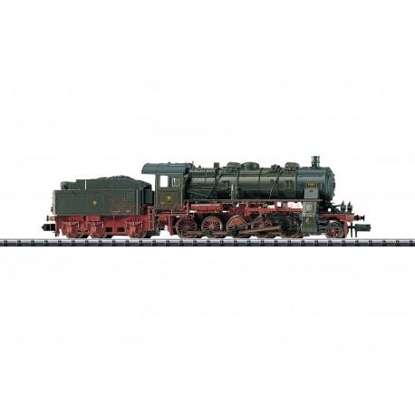 Trix - Locomotora de Vapor BR G 12, K.P.E.V, Digital, Época I, Escala N. Ref: 16582.