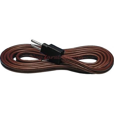 Roco - Cable de booster a vía para centrales Multimaus Roco y Fleischamnn, Ref: 10619.