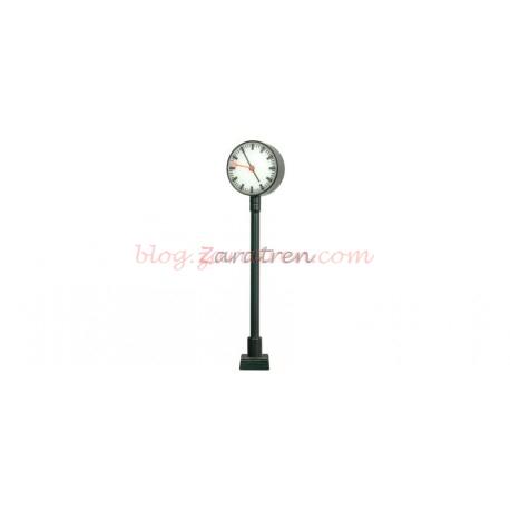 Viessmann - Reloj de estación iluminado, 58 mm, Funcional, DB AG, Escala H0, Ref: 50801.