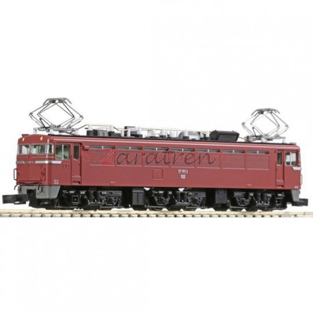 Kato - Locomotora eléctrica EF80, Ref: 3064-2. Una pieza japonesa con un excelente rendimiento en via.