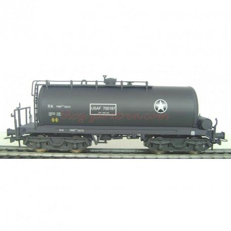 K*train - Cisterna de Boggies, Abastecimiento de bases aéreas americanas, PRR-15215 USAF. Época IV, escala H0, Ref: 0714-M