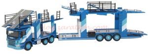 Oxford - Camión Scania EVO Plataforma portacoches, Escala H0, Ref: 76sct006.