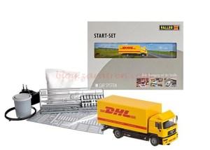 Faller - Set de iniciación Car System de Faller con camión DHL, Ref: 161607.