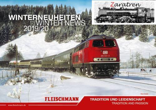 2019 FLEISCHMANN catálogo invierno
