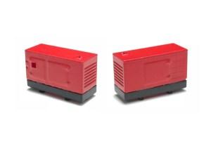 N-Train - Dos Generadores electricos de 100 Kw, Escala N, Ref: 21297.