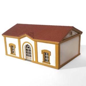 Parvus - Estación de El Vacar - Villaharta, Kit para montar y pintar, Epoca I, Escala N, Ref: N0123.