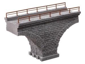 Noch - Arco de puente de Viaducto de Rávena, de piedra triturada, Escala H0, Ref: 58677.