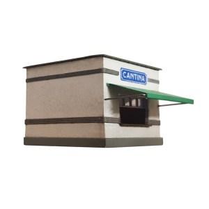 Parvus - Cantina de RENFE, Estación de Binefar, Epoca II, Escala N, Ref: N0308.