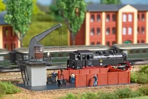 Auhagen - Grua para el cargue de carbón, Ref: 14473.