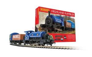 Hornby - Set de inicio Highland Rambler, Escala H0, Ref: R1220.