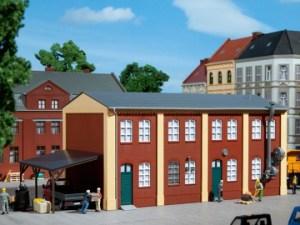 Auhagen - Edificio complementario de fabrica, Epoca I, Escala H0, Ref: 11423.