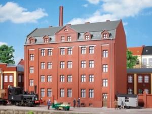Auhagen - Edificio administrativo de la fabrica, Epoca I, Escala H0, Ref: 11424.