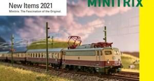 Catalogo Novedades MINITRIX 2021.