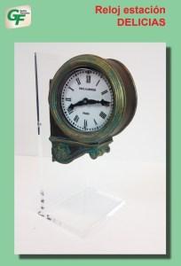 Gestión Ferroviaria - Reloj de la Estación de Delicias, Ref: ZT-GE1000.
