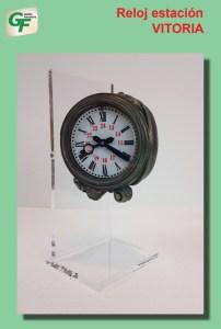 Gestión Ferroviaria - Reloj de la Estación de Vitoria, Ref: ZT-GE1003.