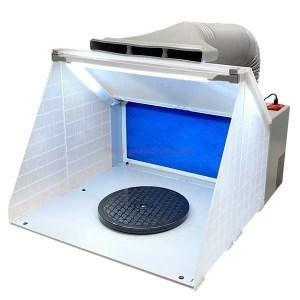 Dismoer - Cabina Extractora Aerografía con Led. Ref: 26153.