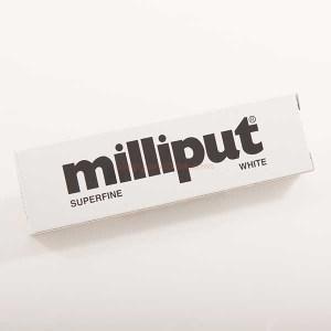 Milliput - Masilla Epoxy Putty Superfine White, Masilla modelar Muy fina, 113 gr. Ref: 277004.