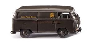 "Wiking - Furgoneta Wolkswagen T2, "" UPS "", Escala H0, Ref: 030004."