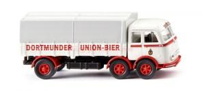 "Wiking - Camión Plataforma ( Mercedes LP333 ) "" Dortmunder Union "", Escala H0, Ref: 042903"