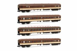 "Arnold - Set de cuatro coches 8000 "" Estrella "", RENFE, Epoca IV, Escala N, Ref: HN4296."