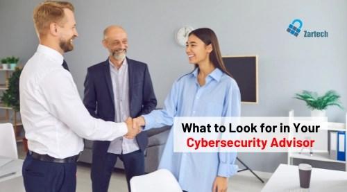 cybersecurity advisor