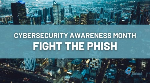 fight phishing emails - cybersecurity awareness month