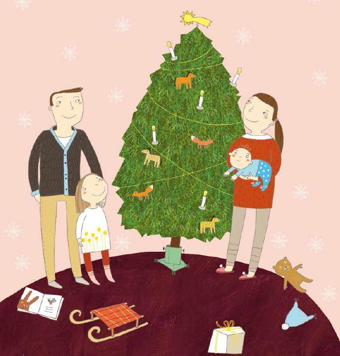Gecko (Vor)lesegeschichte Warum ist der Weihnachtsbaum