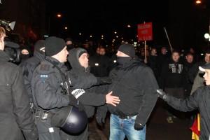 MAGIDA-Teilnehmer bedroht Journalisten © Lukas Beyer