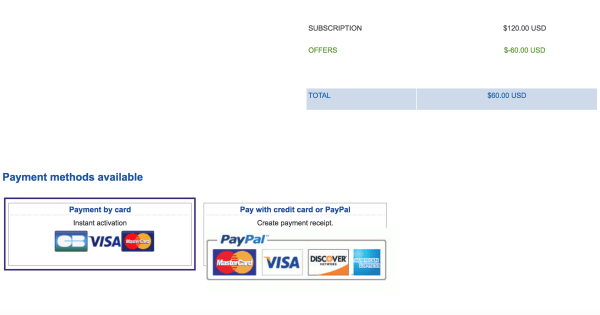 ovh payment methods