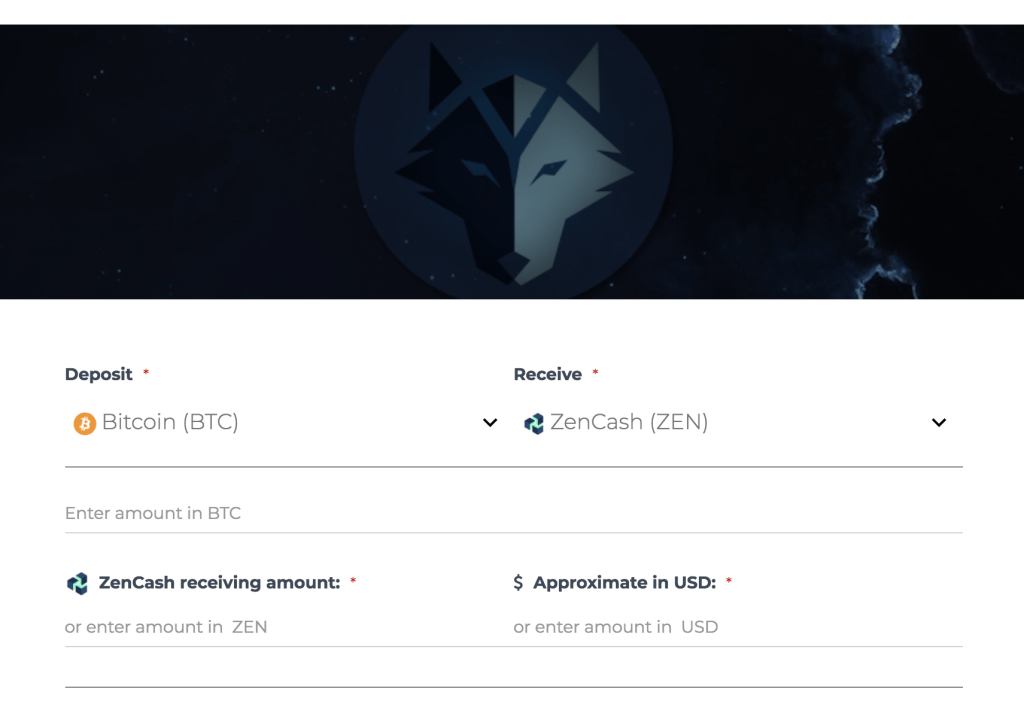 zen on cryptowolf exchange