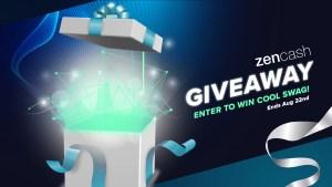 zencash brand expansion giveaway
