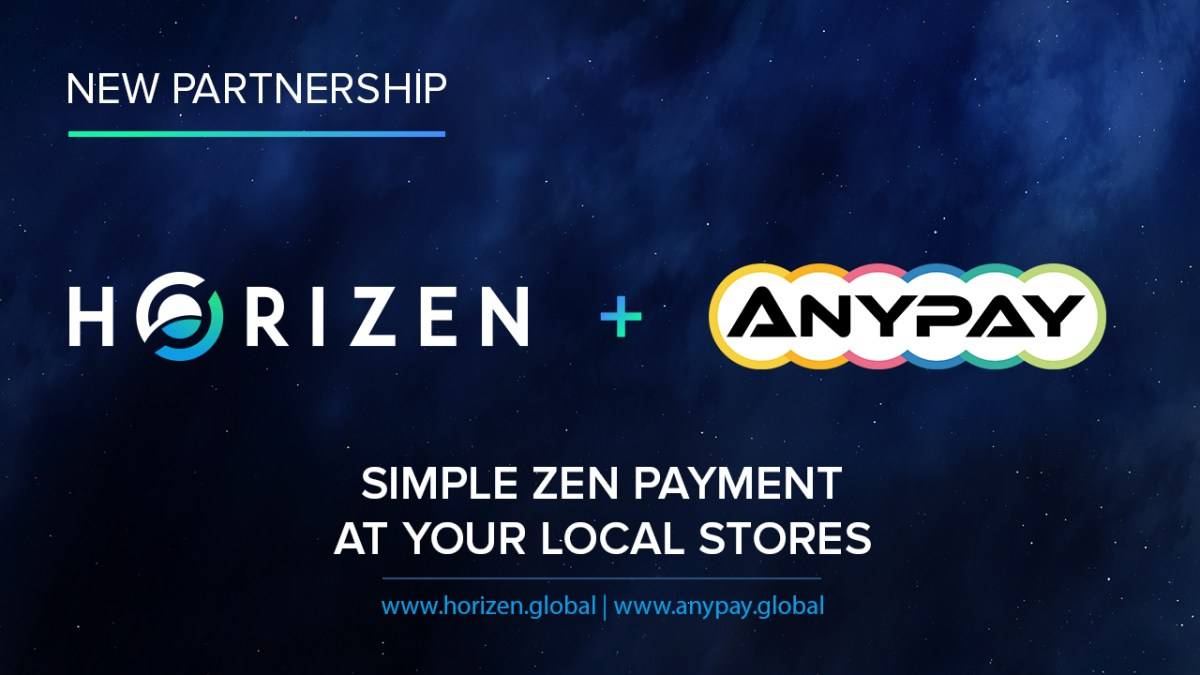 Horizen Listed on Anypay - ZEN is Accepted by 200+ Retailers in the US!