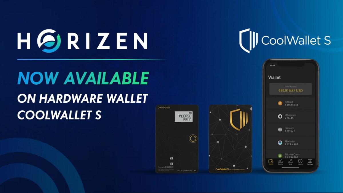 CoolWallet S Now Supports Horizen (ZEN)