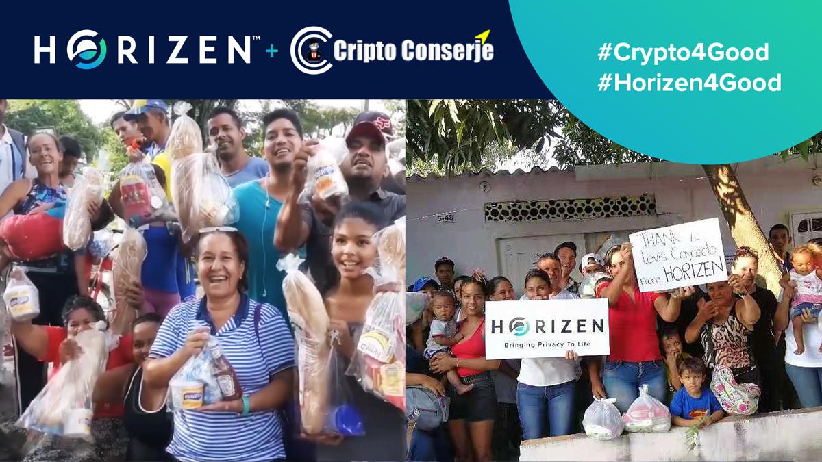 Horizen se une a Cripto Conserje - Ayuda a los refugiados y adopción masiva de ZEN en América Latina
