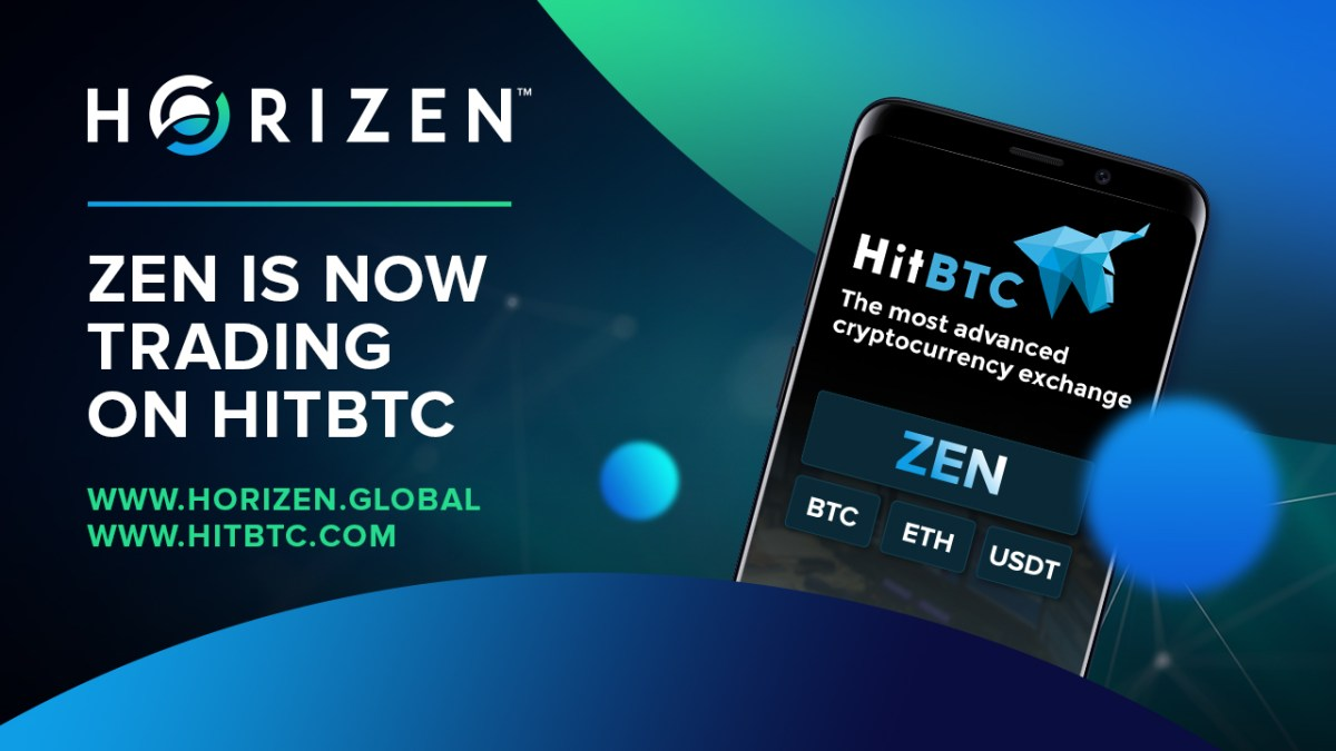 Horizen is Now Available on HitBTC Exchange!