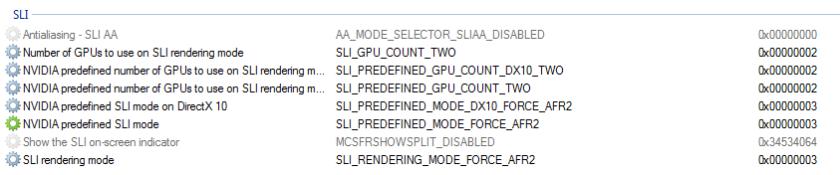 NVInspector DOTA2 Configuration