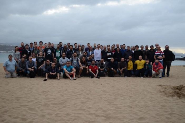 Les participants à SoCraTes Canaries 2016