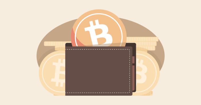 Un portefeuille bitcoin