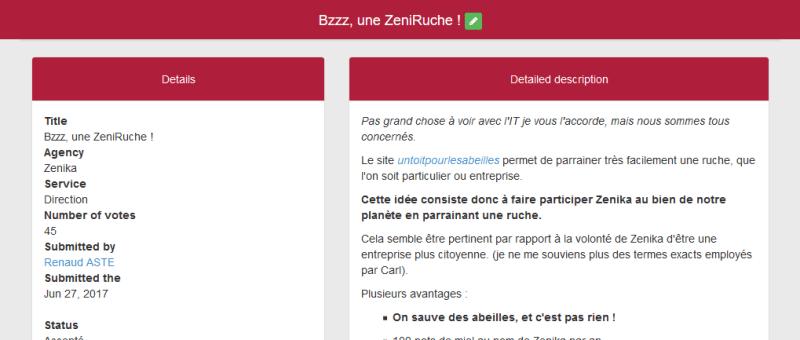 ZenApp, l'application qui nous permet de poster des ZenIdea.