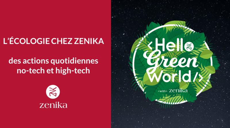 L'écologie chez Zenika