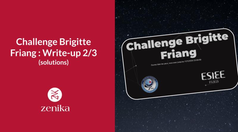 Challenge Brigitte Friang : Write-up (solutions) 2/3 – catégorie Algo