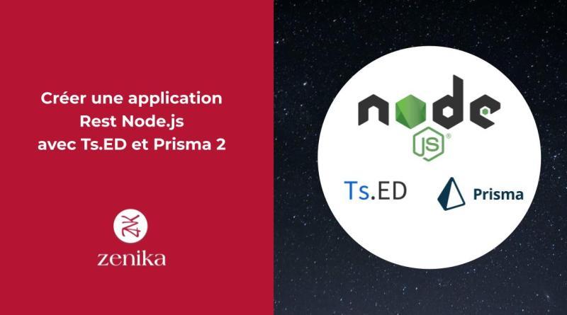 Créer une application Rest Node.js avec Ts.ED et Prisma 2