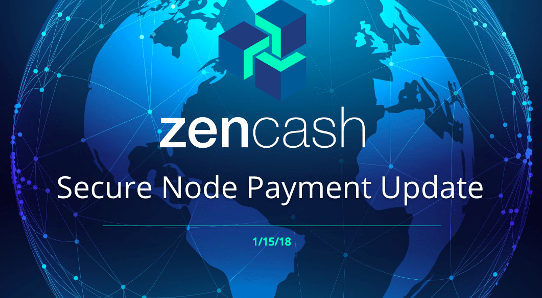 Secure Node Payment Update 1-15-18