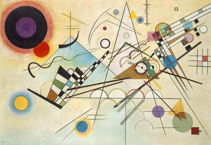 Composition 8 Kandinsky