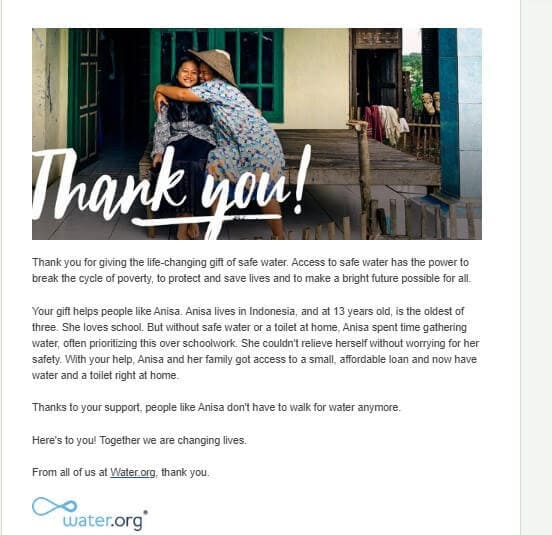 nonprofit email strategy