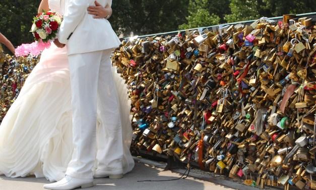 Paris locks of Love