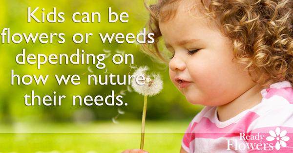 Flowers or weeds