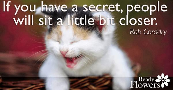 Scent of a secret